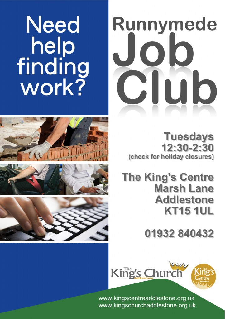 Job Club with Runnymede
